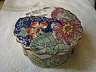 Floral Porcelain Box