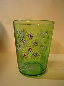 Antique Green Tumbler