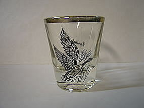 Canadian Goose Shot Glass