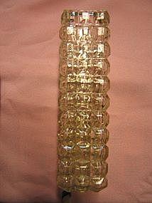 Crystal Cubist Vase