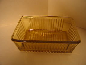 Federal Glass Refrigerator Dish