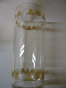 Butterfly Gold Glass