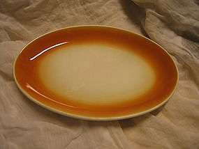 Homer Laughlin Orange Restaurant Platter