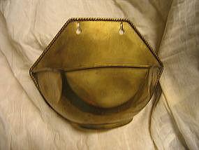 Brass Wall Pocket
