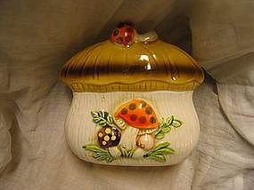 Merry Mushroom Napkin Holder