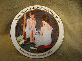 Rockwell Girl at the Mirror