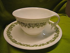 Corelle Crazy Daisy Cup and Saucer
