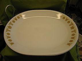 Corelle Butterfly Gold Platter