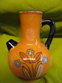 Hand Painted Japan Pitcher