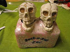 Skull Nodders Salt and Pepper Shakers