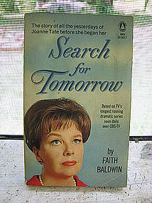 Search for Tomorrow by Faith Baldwin