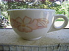 Homer Laughlin Restaurant Peach Flower Cup