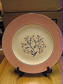 Homer Laughlin Springtime Plate