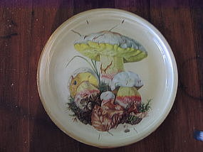Toadstool Plate