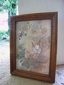 Lena Liu Butterfly Print