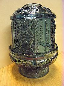 Indiana Glass Blue Fairy Light