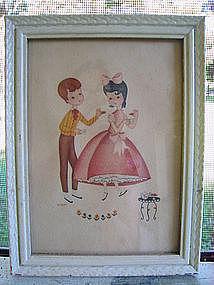 Vintage Chiildren Print