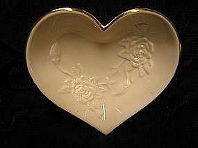 Lenox Rose Heart Dish