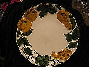 Stangl Sculptured Fruit Plate