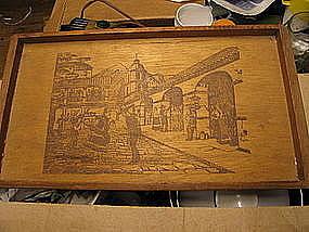 Redwood Tray