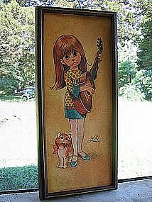 Lee Little Girl Print