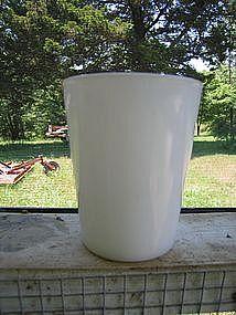 Milk Glass Tumbler