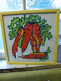 Stitched Vegetable Sampler