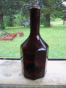 Ruby Bitters Bottle