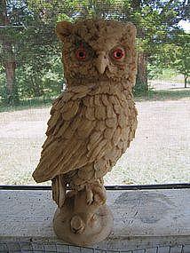 Screech Owl Statue