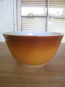 Brown Pyrex Bowl