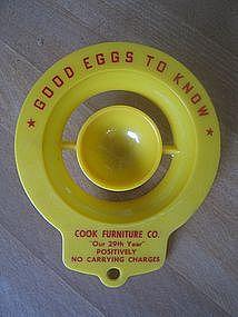 Advertising Egg Separator