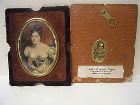 Cameo Creation Lady Cynthia Capel