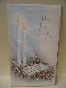 Vintage Sympathy Card