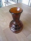 Amber Beehive Vase