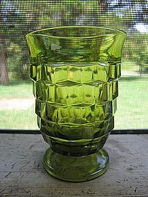 Green Whitehall Juice Glass