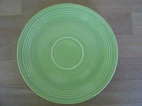 Homer Laughllin Fiesta Chartreuse Saucer