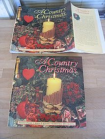 A Country Christmas by Lorenz Books
