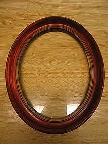 Vintage Oval Picture Frame