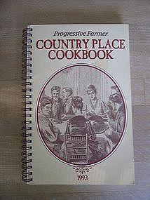 Progressive Farmer 1993 Country Place Cookbook