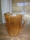 Jeannette Iridized Pitcher