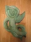 Green Plaster Cupid