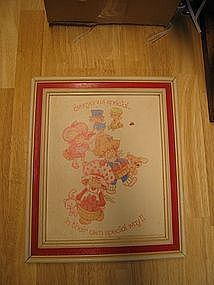 Vintage Strawberry Shortcake Print