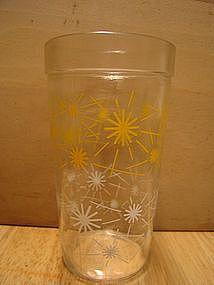 Starburst Peanut Butter Glass