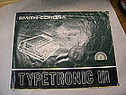 Smith-Corona Typetronic III Manual