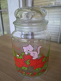 Strawberry Shortcake Canister