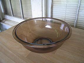 Pyrex Amber Mixing Bowl