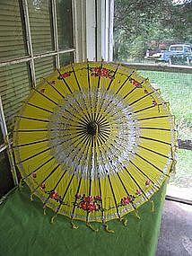 Vintage Silk Parasol