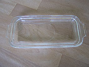 Glass Butter Plate