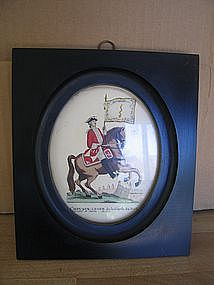 Light Horse of the Royal Guard Print