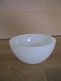 Federal Milk Glass Bowl